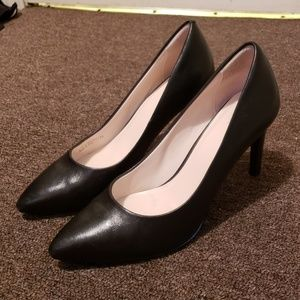 Cole Haan Grand Abigail Pump Heel Sz 8 Black